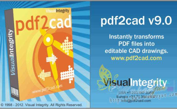 pdf2cad绿色中文版