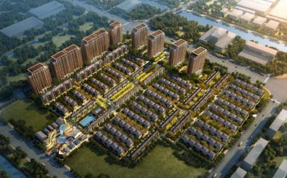 [上海]顾村A单元地块项目规划方案设计文本