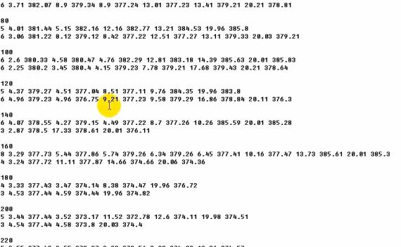 横断面数据转纬地数据格式方法