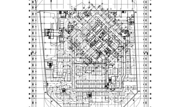 [上海]25万平地块项目电气图纸(CAD+PDF)
