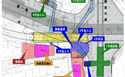地铁外挂设备及换乘通道逆作区施工组织设计