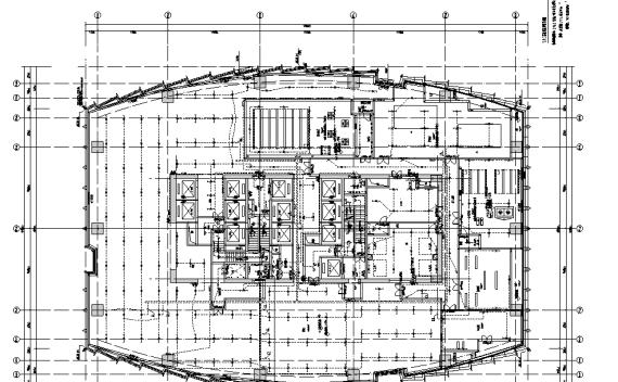 武汉超高层城市综合体机电设备施工图