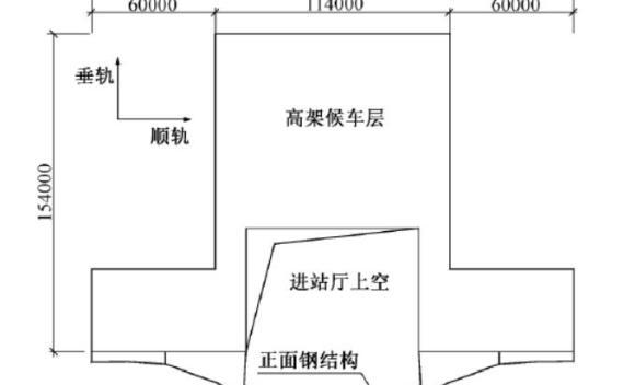 赣州西站站房缓粘结预应力技术结构设计