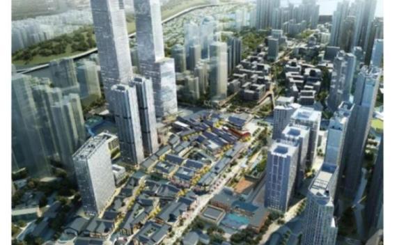 武汉归元寺商业综合体项目地下室顶板