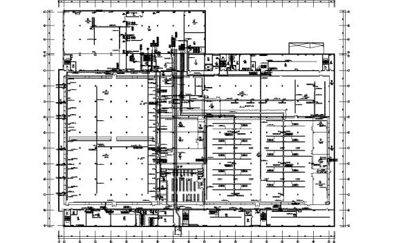山东工业厂房电气专业施工图(含自控工艺)