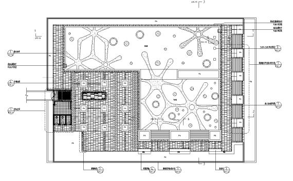 中型泳池施工图详图设计