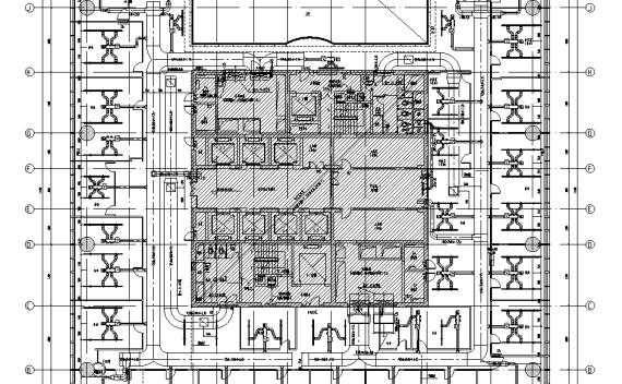 深圳超高层综合办公楼全套施工图纸
