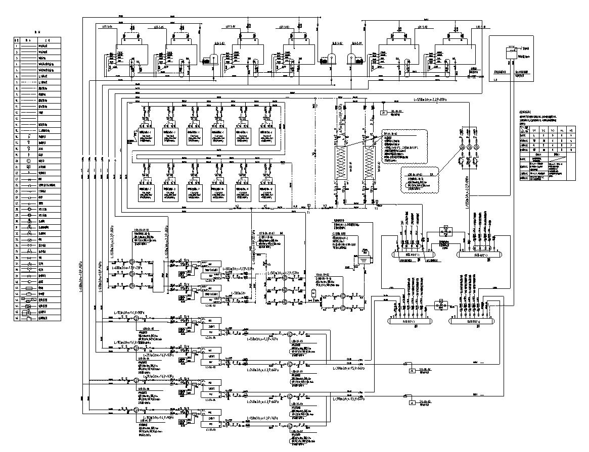 制冷机房系统原理图