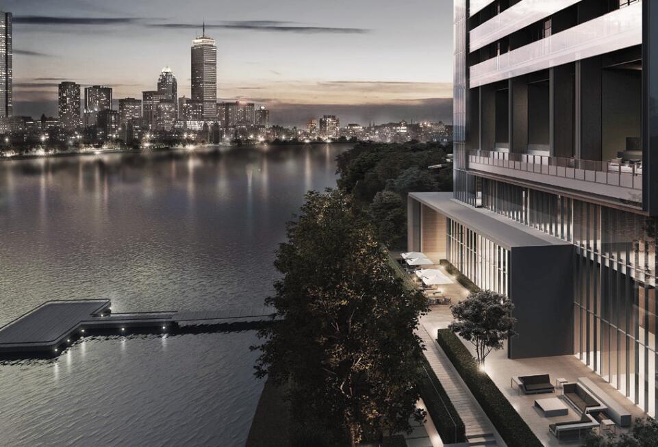 现代风格悦榕庄滨江豪宅建筑方案设计 (1)
