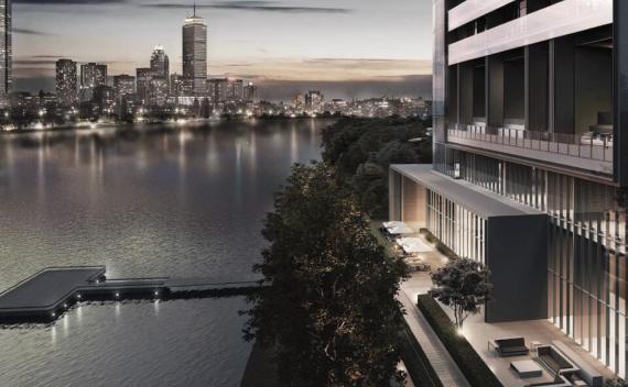 现代风格悦榕庄滨江豪宅建筑方案设计