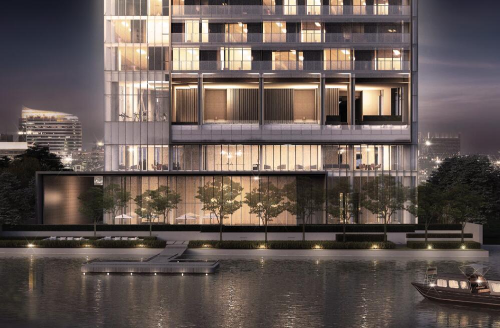 现代风格悦榕庄滨江豪宅建筑方案设计 (3)