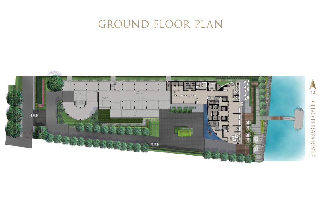 现代风格悦榕庄滨江豪宅建筑方案设计 (4)