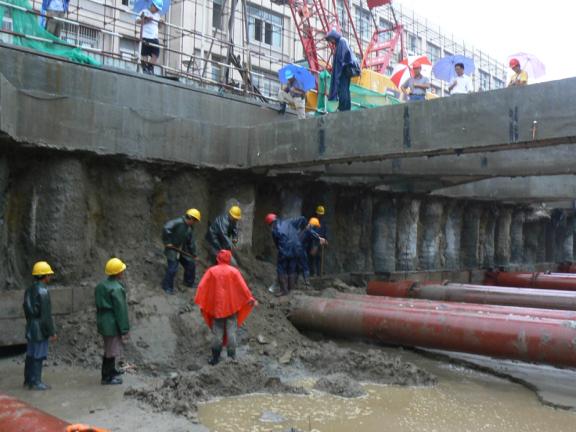 建筑工程基坑风险及质量控制措施-采用旋喷桩导致