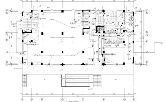 [广东]中铁产业园办公楼电气施工图(2020)