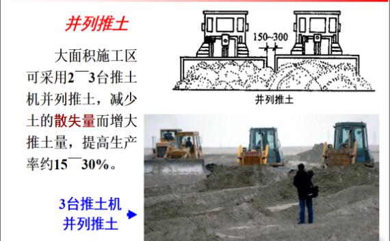 土木工程施工-第3讲-机械化施工及填土压实