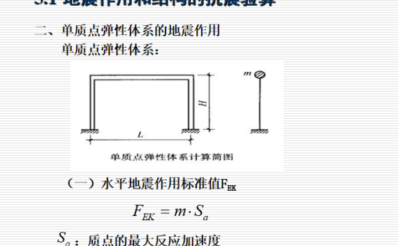 建筑结构抗震基础知识PPT(64页)