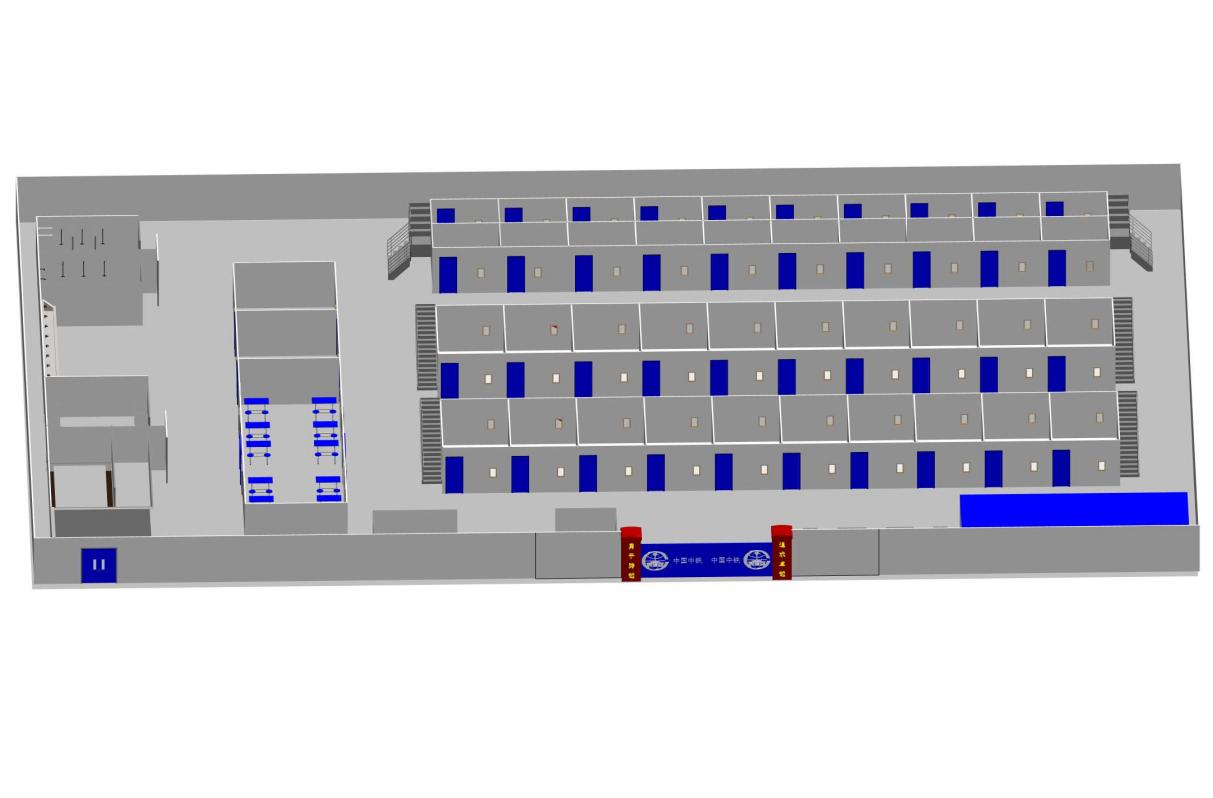 房建项目标准化工人驻地宿舍Revit模型_1