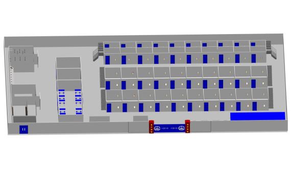 房建项目标准化工人驻地宿舍Revit模型