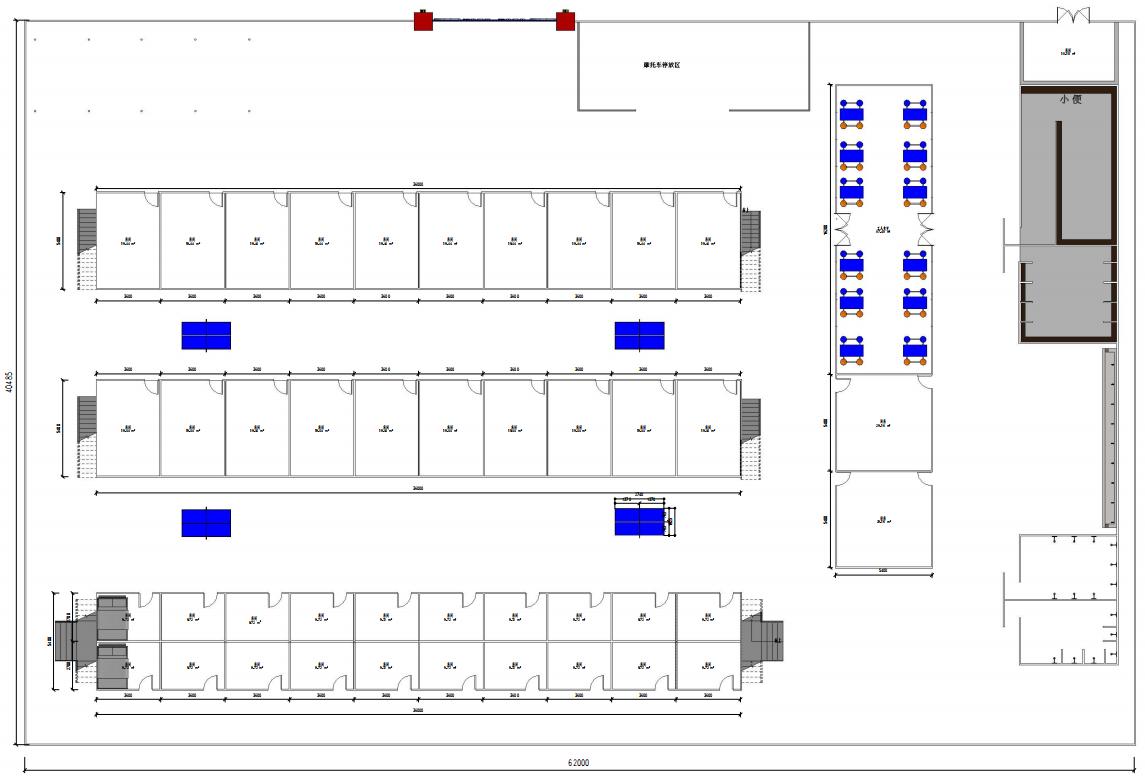 房建项目标准化工人驻地宿舍Revit模型_2