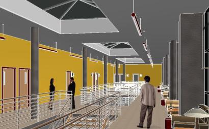 多层办公楼revit模型