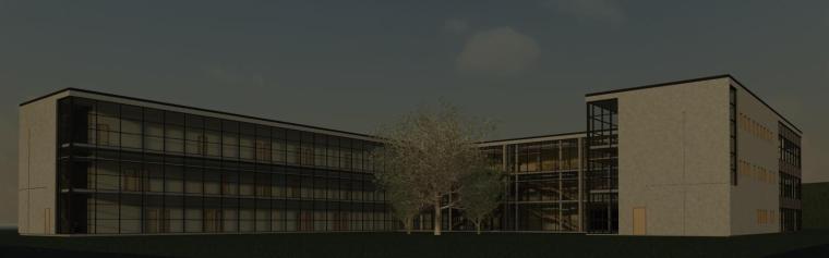 多层办公楼revit模型_3