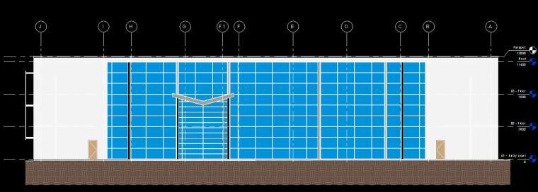 多层办公楼revit模型_6