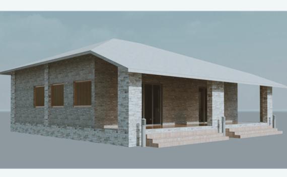单层住房revit模型
