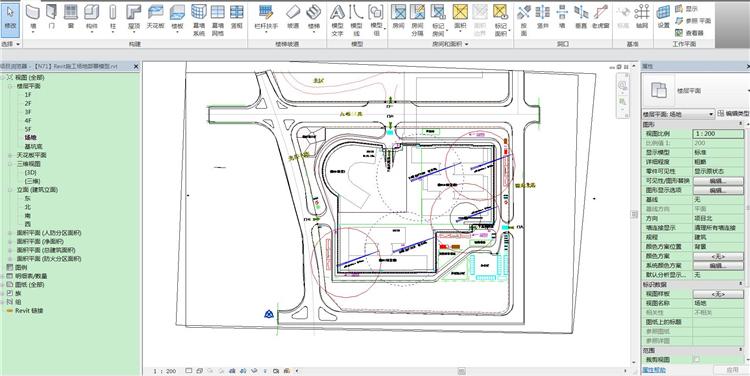 工地现场布置revit模型_6