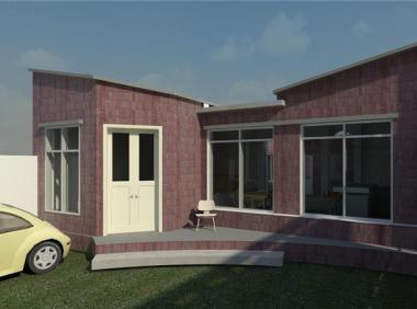 单层时尚别墅revit模型