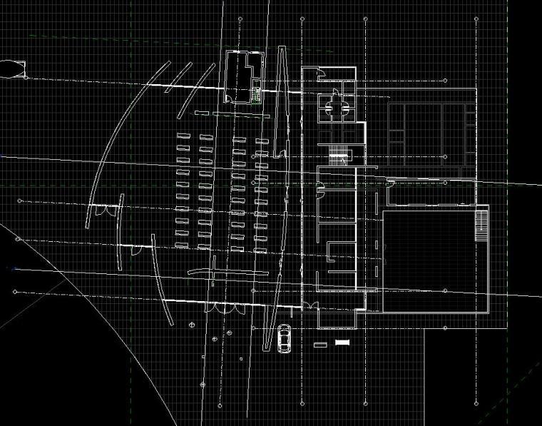 现代化大教堂revit模型_5