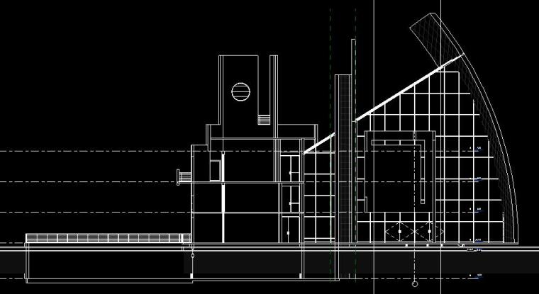 现代化大教堂revit模型_6