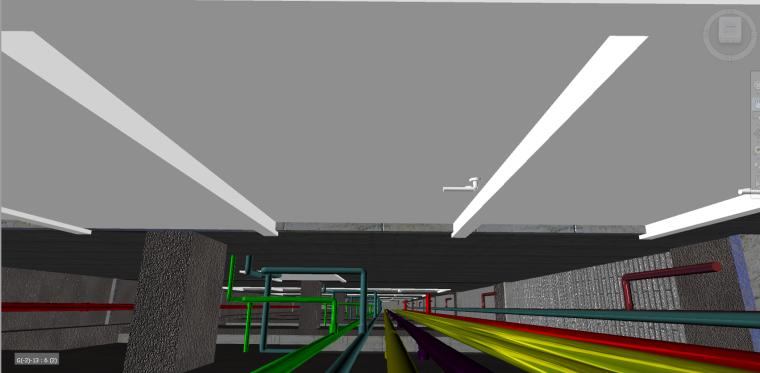 多层图书馆revit土建模型(含管综)_4